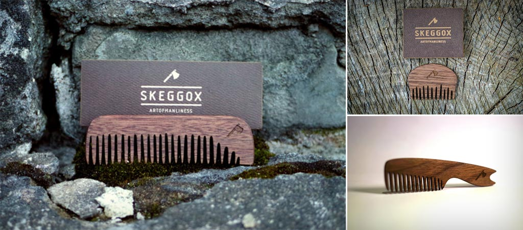 Skeggox Beard Combs