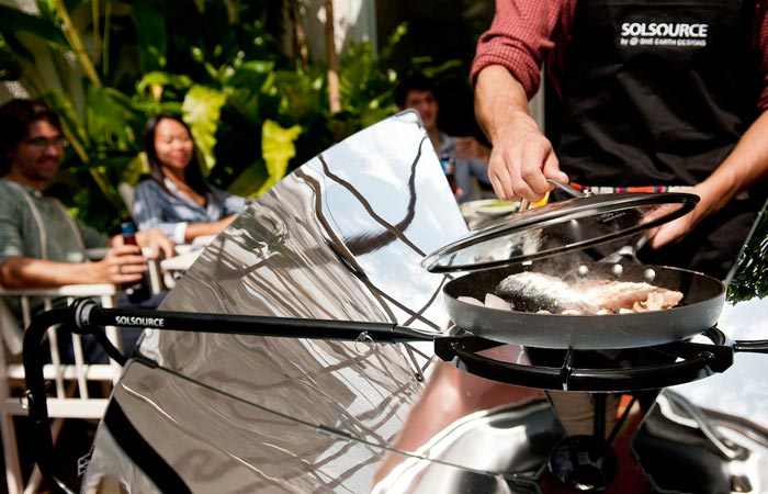 How the Solsource solar cooker works