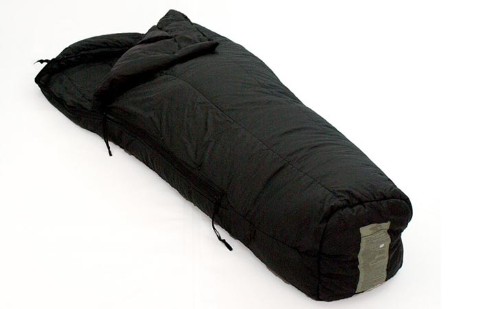 Us Military cold weather sleeping bag in black