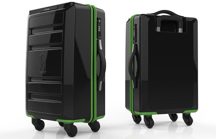 VoltVoyage suitcase
