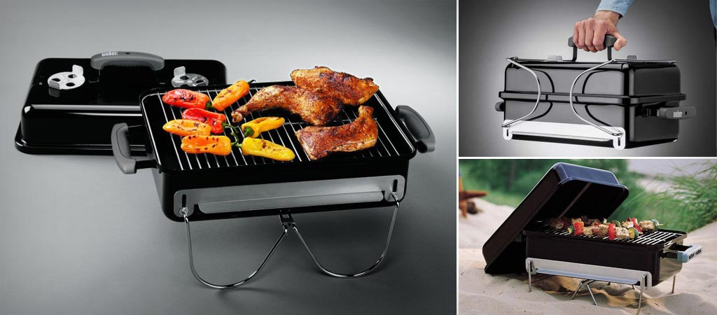 Webber Go-Anywhere Charcoal Grill