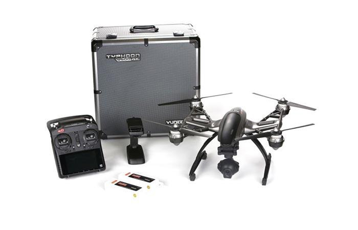 Yuneec Q500 4K Quadcopter box