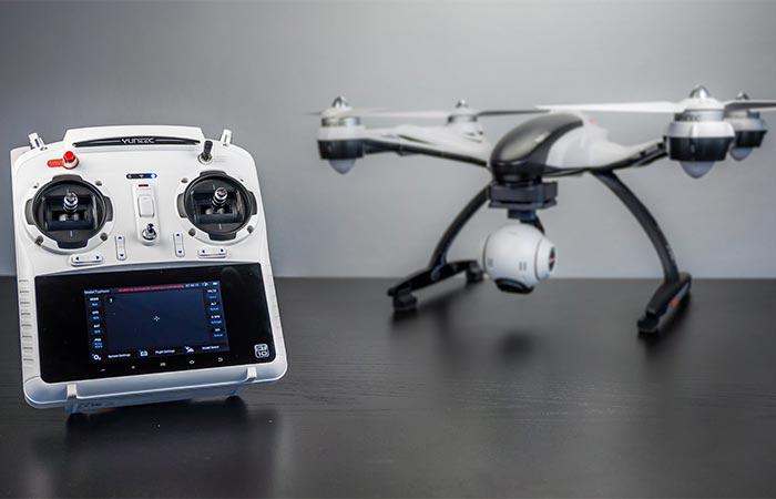 Yuneec Q500 4K Quadcopter controller