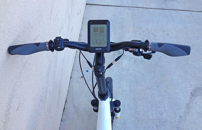 BESV PS1 Electric Bike user-interface