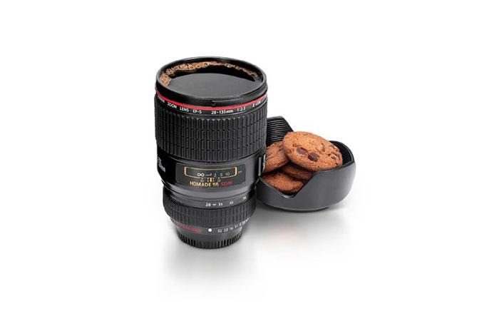 Camera Lens Mug by KBJ