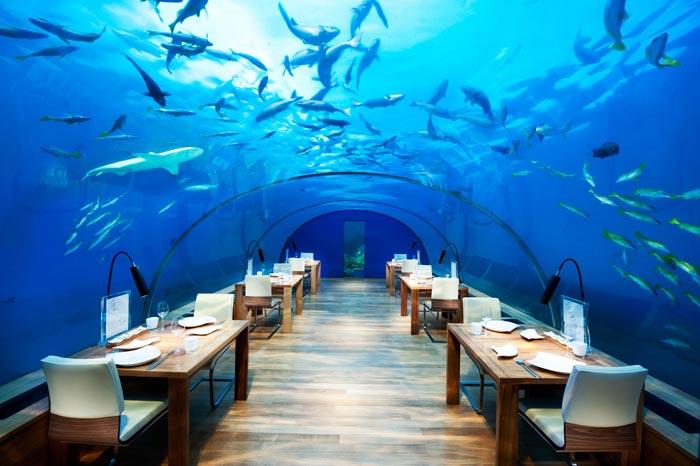 Conrad Maldives Rangali restaurant