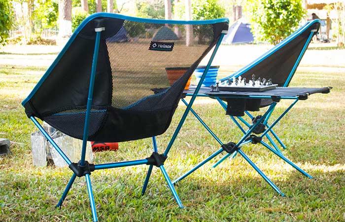 Strange Helinox Swiwel Chair And Table Machost Co Dining Chair Design Ideas Machostcouk