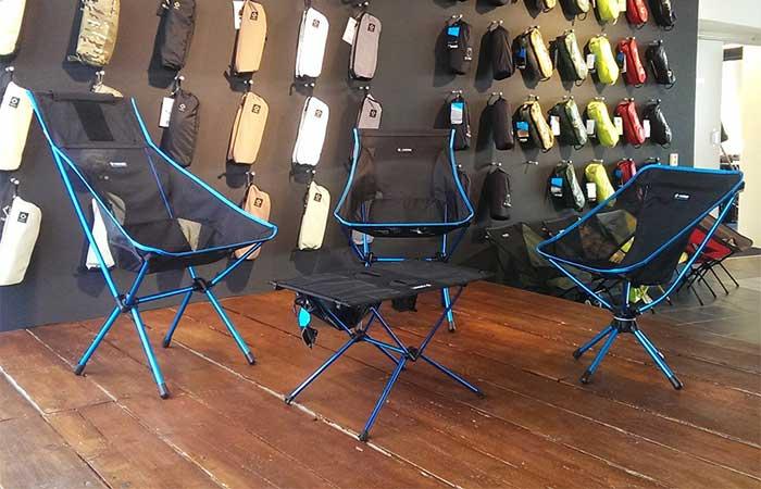 Pleasing Helinox Swiwel Chair And Table Machost Co Dining Chair Design Ideas Machostcouk