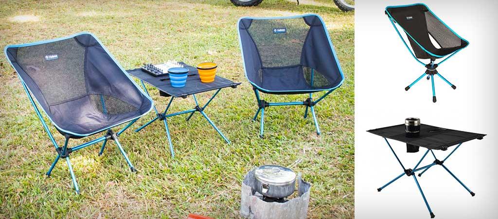 Superb Helinox Swiwel Chair And Table Machost Co Dining Chair Design Ideas Machostcouk
