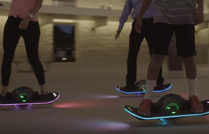 Hoverboard speed
