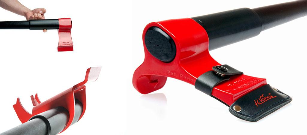 Leveraxe wood splitting axe