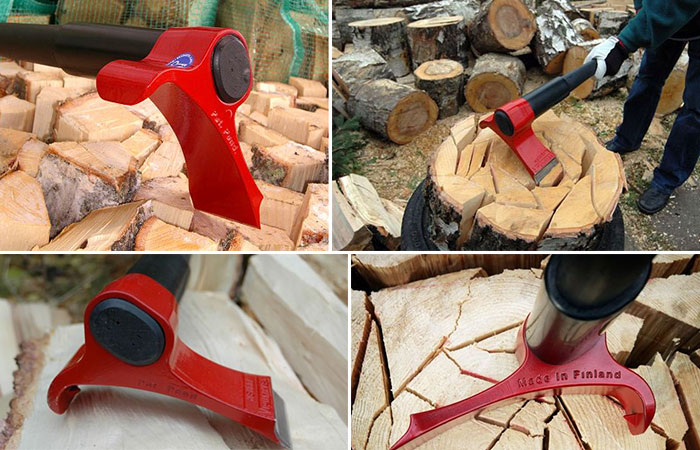 Leveraxe wood splitting axe