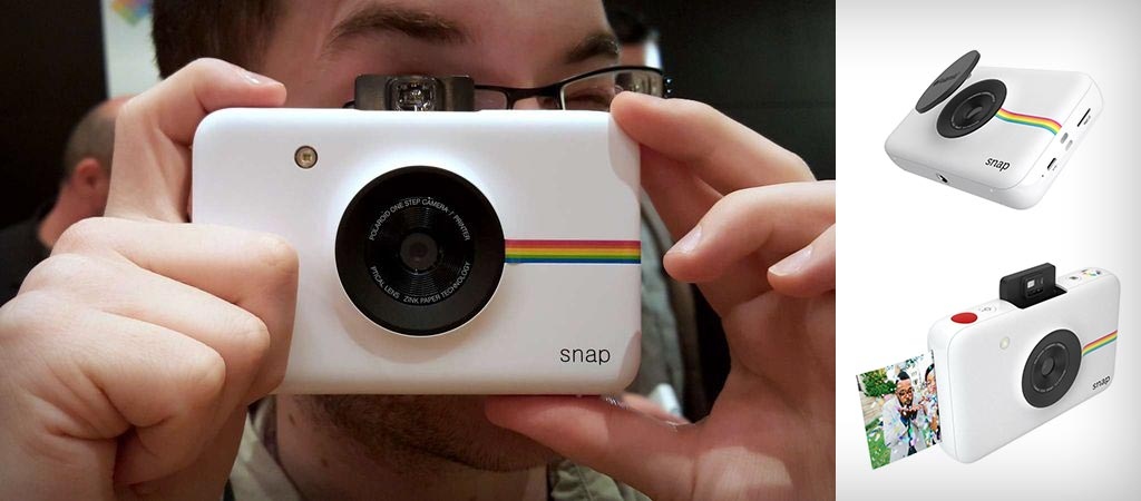Polaroid's New Snap Instant Digital Camera