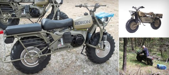 ROKON | MOTOTRACTORS FOR HUNTERS