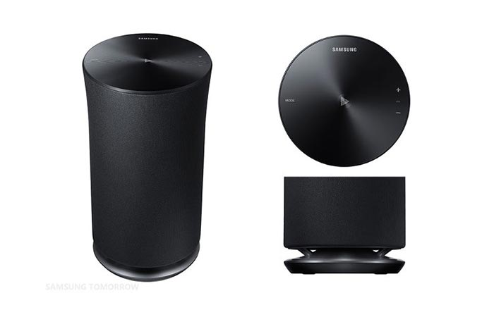 Samsung Wireless Audio 360 Speakers design