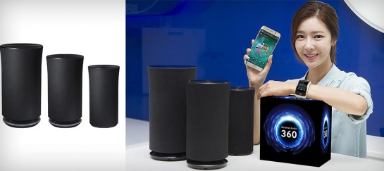 Samsung Wireless Radiant360 Speakers