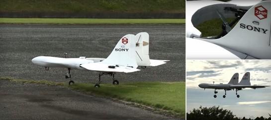 SONY VTOL PROTOTYPE DRONE