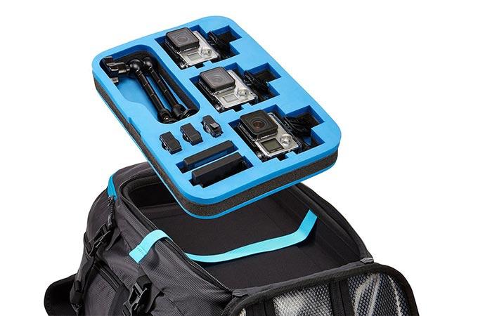 Legend GoPro Backpack die-cut foam pad
