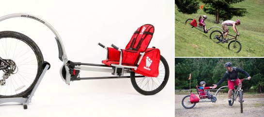 WEEHOO TURBO BICYCLE TRAILER FOR KIDS