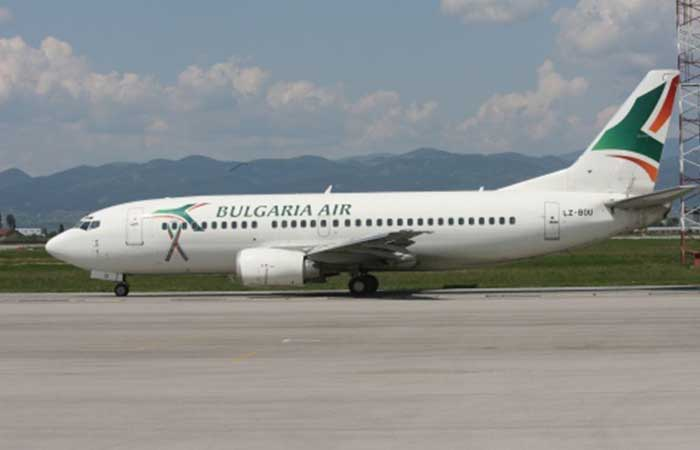 Bulgaria air airplane