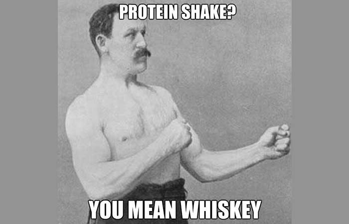 Overly manly man's opinion of whiskey