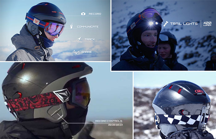 Alpine Smart Helmet
