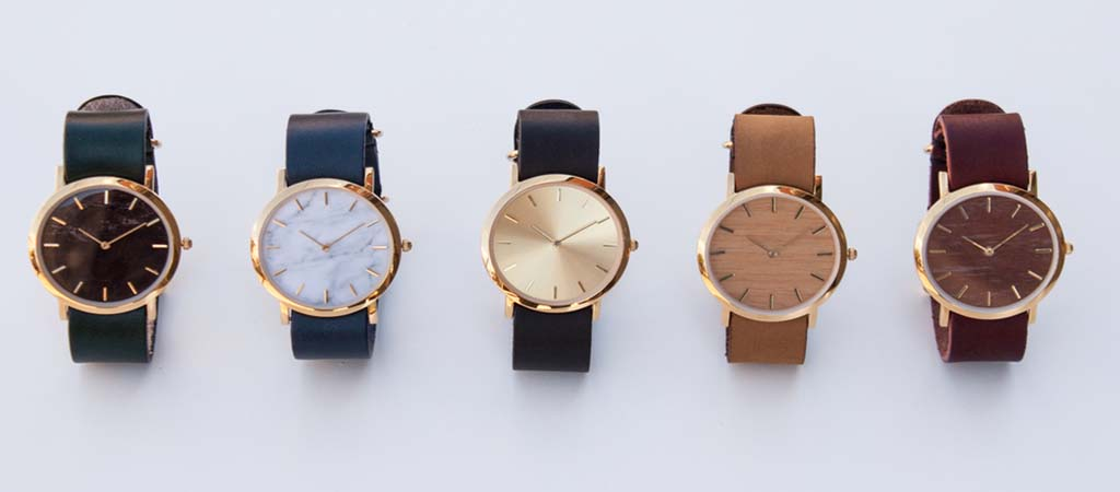 An Interchangeable Everyday Watch With A Natural Twist By Analog Watch Co