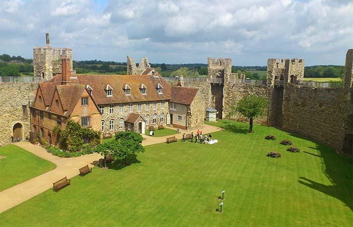 Framlingham Castle inside