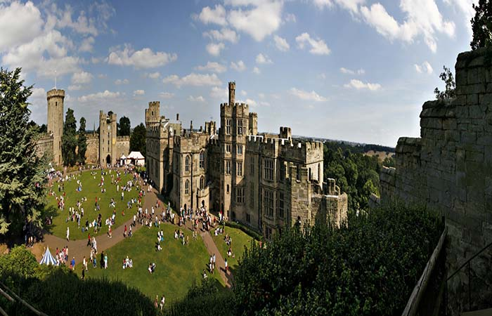 Warwick castle events 2015