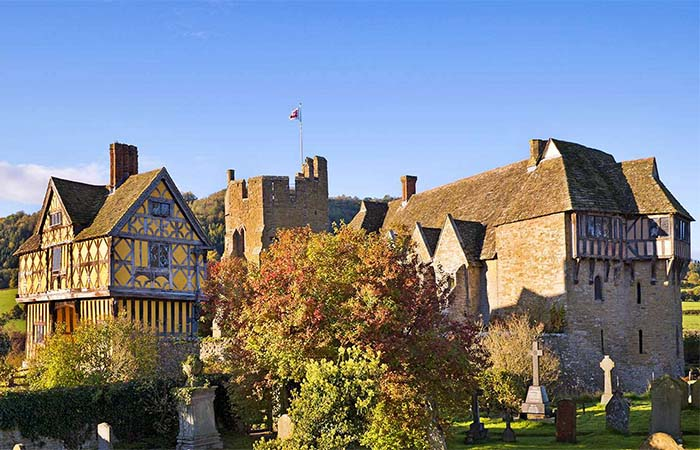 Stokesay Castle Great Hall