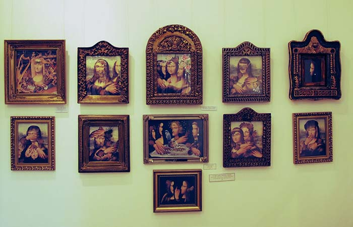 Paintings in Sergei Paradjanov museum