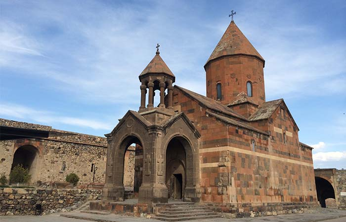 Church in Khor Virap Armenia