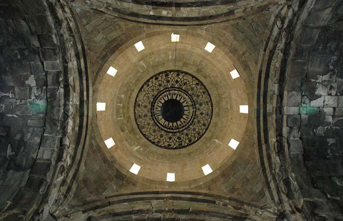 Tatev monastery Armenia Ceiling