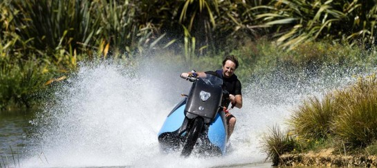 GIBBS BISKI | HIGH-SPEED AMPHIBIOUS MOTOCYCLE