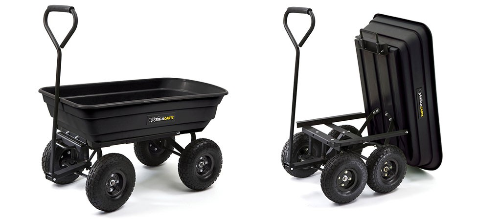 Gorilla Cart Heavy Duty Dump Cart Jebiga Design