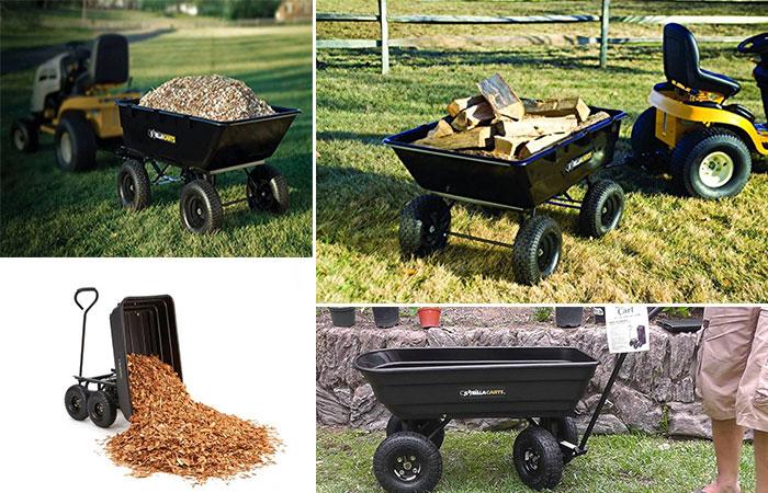 Gorilla Cart Heavy Duty Dump Cart
