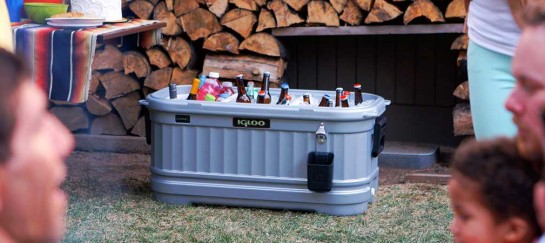 IGLOO PARTY BAR | FULLY EQUIPPED PARTY COOLER