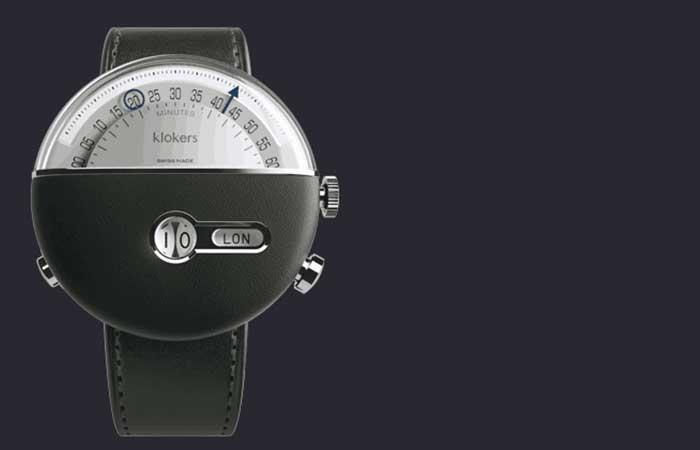 KLOK-02 by Klokers wristwatch closeup