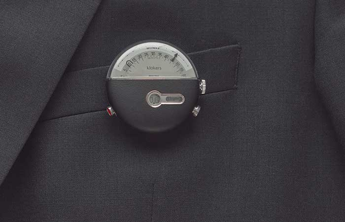 KLOK-02 as a pocket watch