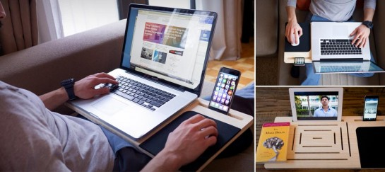 LapPad | Mobile Workstation For Laptops, Smartphones and Tablets