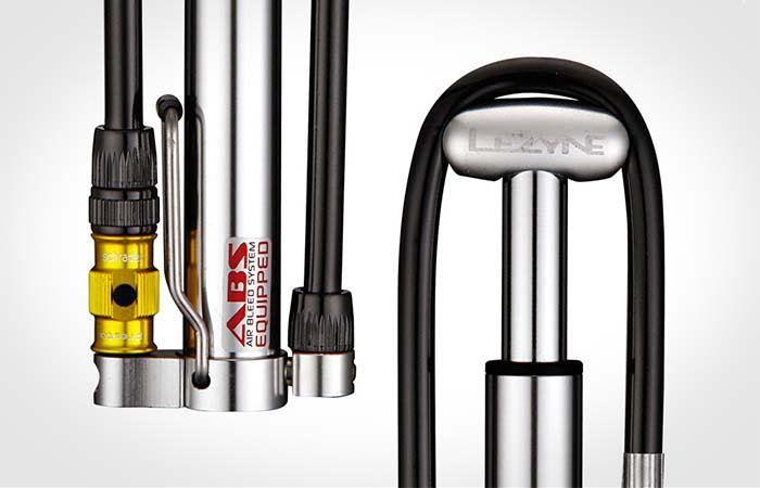 Stainless Steel Parts Of Lezyne Micro HP Floor Pump