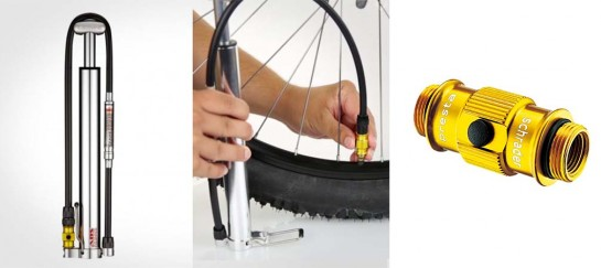 Lezyne Micro HP Floor Pump | Compact and Super Light Bike Pump