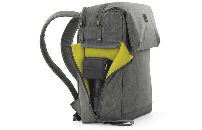 Notebook Montgomery Street Backpack with open side pocket