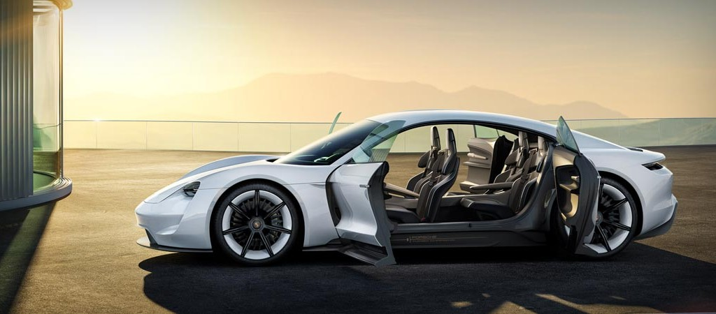 Porsche Mission E Concept Electric Supercar Jebiga