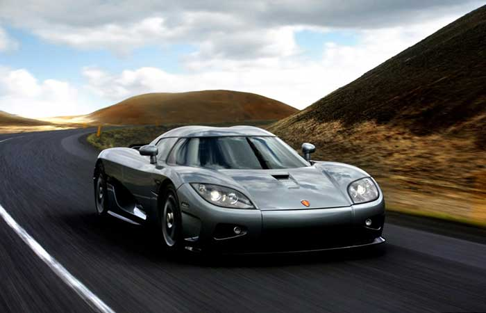 Koenigsegg CCX on the road
