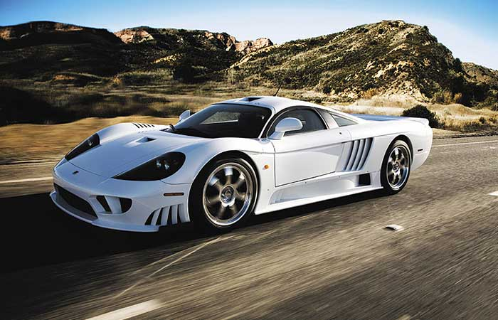 Saleen S7 TT on the road