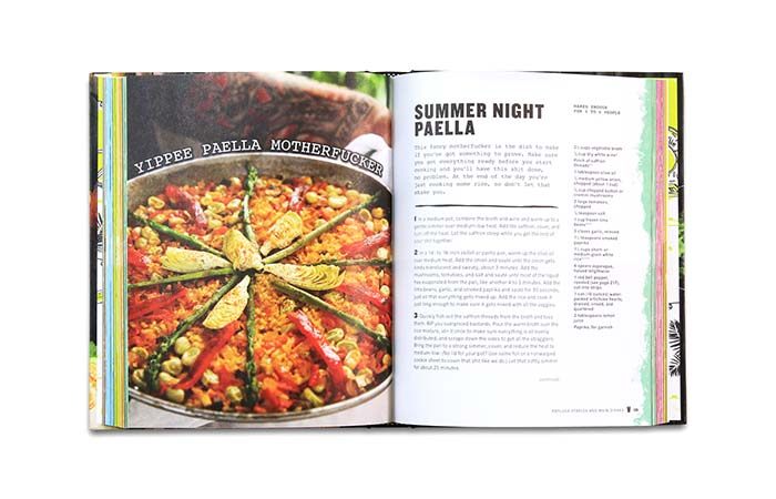 Summer Night Paella Recipe in Thug Kitchen Book