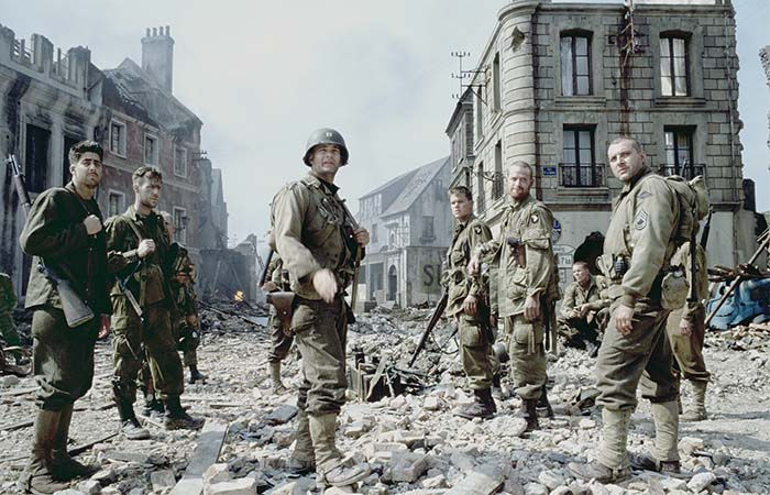 The team in Saving Private Ryan