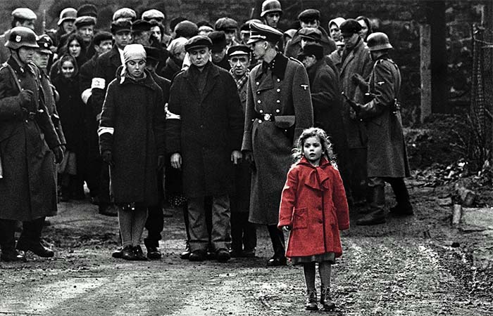 Schindlers List The Girl In The Red Coat