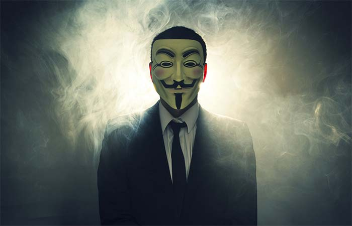 Hackers group Anonymous